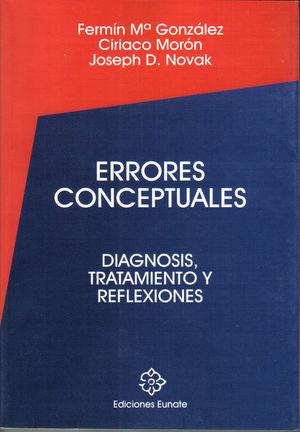 ERRORES CONCEPTUALES, DIAGNOSIS, TRATAMIENTO Y REFLEXIONES