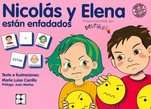 PICTOGRAMAS 25 NICOLAS Y ELENA ESTAN ENFADADOS