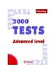 2000 TEST ADVANCED LEVEL  KEY BOOK