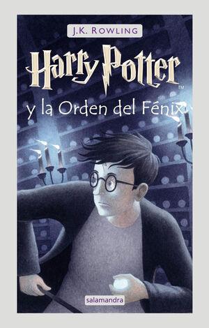 HARRY POTTER Y LA ORDEN DEL FÉNIX (HARRY POTTER, 5)