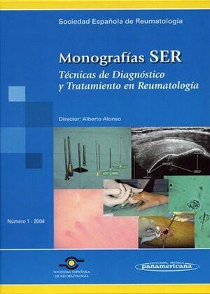 MONOGRAFIAS SER TECNICAS DE CIAGNOSTICO Y TRATAMIENTO EN REUMATOLOGIA