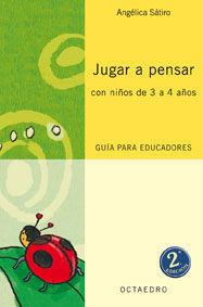 JUGAR A PENSAR CON NIÑOS DE 3 A 4 AÑOS LIBRO PROFESOR PROYECTO NORIA