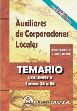 TEMARIO II AUXILIARES DE CORPORACIONES LOCALES