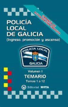 TEMARIO I POLICIA LOCAL DE GALICIA