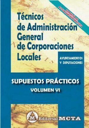 SUPUESTOS PRACTICOS TÉCNICOS ADMINISTRACIÓN GENERAL  CORPORACIONES LOCALES SUPUESTOS PRÁCTICOS