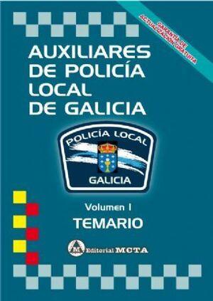 TEMARIO I AUXILIARES POLICIA LOCAL DE GALICIA