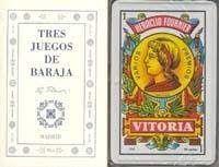 TRES JUEGOS DE BARAJA + CARTAS