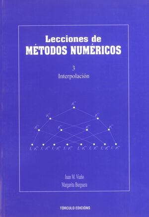 LECCIONES DE MÉTODOS NUMÉRICOS  3.