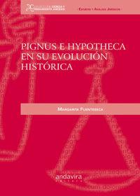 PIGNUS E HYPOTHECA EN SU EVOLUCIÓN HISTÓRICA