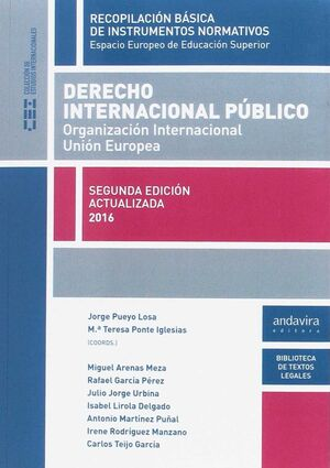 DERECHO INTERNACIONAL PUBLICO. ORGANIZACION INTERNACIONAL EUROPEA
