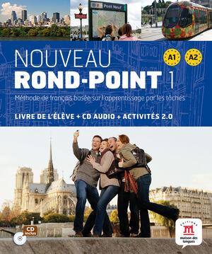 NOUVEAU ROND POINT 1. LIVRE DE ELEVE + CD  A1 A2