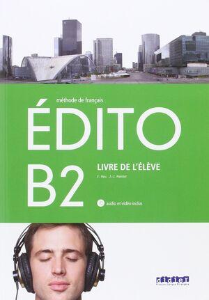 EDITO B2, LIVRE L'ELEVE