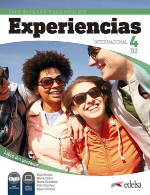 EXPERIENCIAS INTERNACIONAL 4 B2. LIBRO DEL PROFESOR
