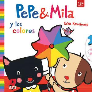 PEPE Y MILA Y LOS COLORES