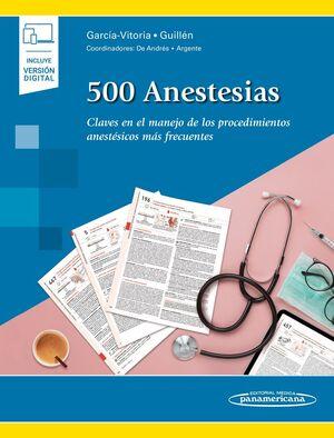 500 ANESTESIAS (+E-BOOK)