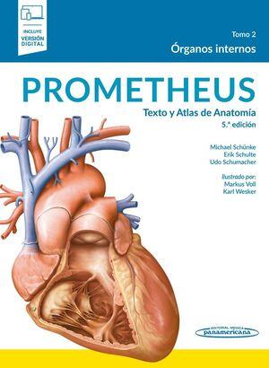 PROMETHEUS: TEXTO Y ATLAS DE ANATOMIA. 5ªEDICION