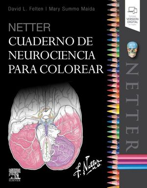 NETTER. CUADERNO DE NEUROCIENCIA PARA COLOREAR