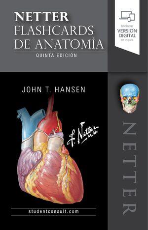 NETTER. FLASHCARDS DE ANATOMÍA (5ª ED.)