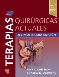 TERAPIAS QUIRÚRGICAS ACTUALES 13ª EDICIÓN