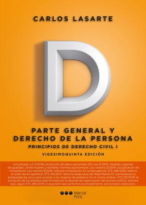PRINCIPIOS DE DERECHO CIVIL. TOMO I