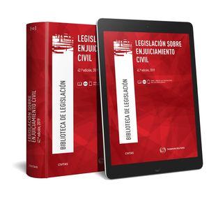 LEGISLACIÓN SOBRE ENJUICIAMIENTO CIVIL (PAPEL + E-BOOK)