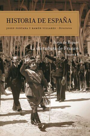 LA DICTADURA DE FRANCO. HISTORIA DE ESPAÑA, 9
