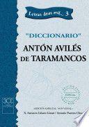 DICCIONARIO ANTÓN AVILÉS DE TARAMANCOS