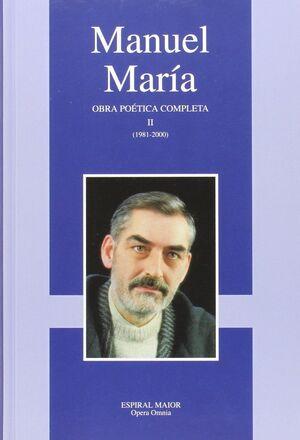 OBRA POETICA COMPLETA. MANUEL MARIA