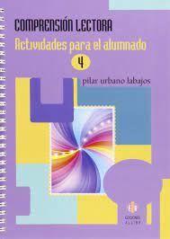 COMPRENSIÓN LECTORA 4 ACTIVIDADES PARA EL ALUMNADO