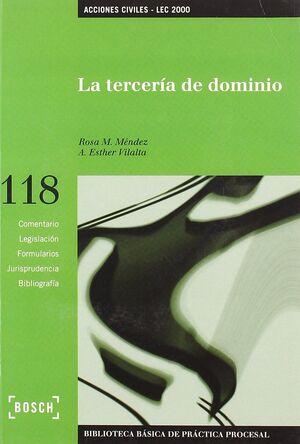 LA TERCERÍA DE DOMINIO - LEC 2000