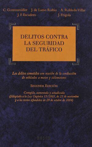 DELITOS CONTRA LA SEGURIDAD DEL TRÁFICO