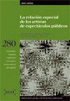 LA RELACIÓN ESPECIAL DE LOS ARTISTAS DE ESPECTÁCULOS PÚBLICOS