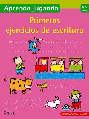 APRENDO JUGANDO MIS PRIMEROS EJERCICIOS DE ESCRITURA 4 - 5 AÑOS