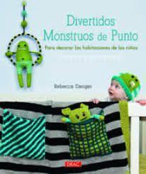 DIVERTIDOS MONSTRUOS DE PUNTO