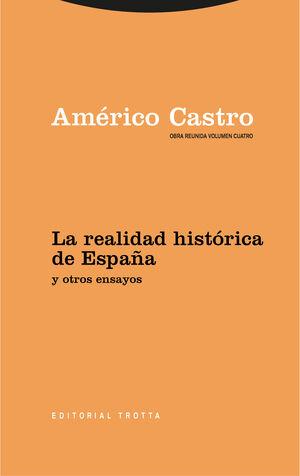 OBRA REUNIDA AMÉRICO CASTRO VOL. 4