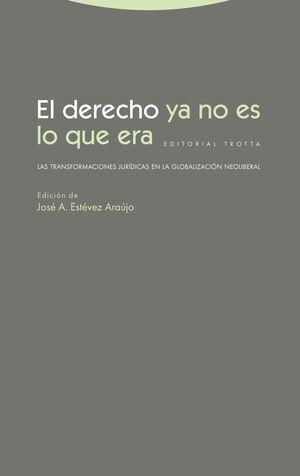 DERECHO YA NO ES LO QUE ERA, EL