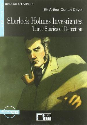 SHERLOCK HOLMES INVESTIGATES.THREE STORIES OF DETECTION