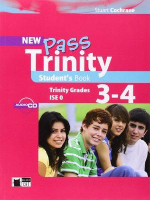 NEW PASS TRINITY STUDENT´S BOOK  ( TRINITY GRADES 3-4 )  ** BLACK CAT