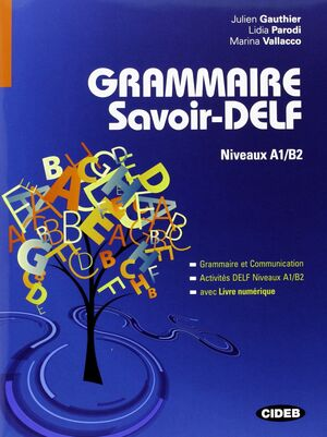GRAMMAIRE SAVOIR DELF NIVEAUX A1/B2
