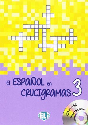 EL ESPAÑOL EN CRUCIGRAMAS, 3 (CON CD-ROM)