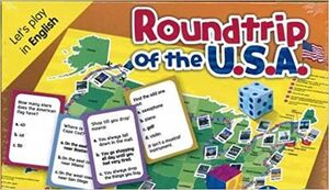 ROUNDTRIP OF THE U.S.A. LET´S PLAY IN ENGLISH.LEVEL A2-B1. (CAJA)
