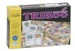 TRIBOO ENGLISH (CARD GAME, LEVEL A2-B1)