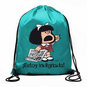 BOLSA CUERDAS MAFALDA ESTOY INDIGNADA!