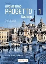 NUOVISSIMO PROGETTO ITALIANO 1 LIBRO DVD