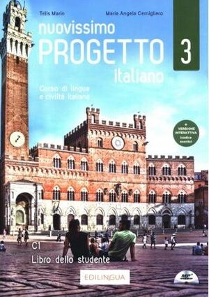NUOVISSIMO PROGETTO ITALIANO 3 C1 LIBRO DELLO STUDENTE