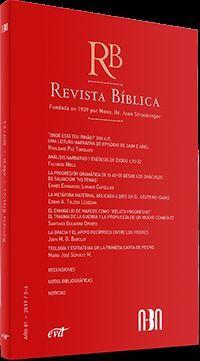 REVISTA BÍBLICA 2019/3-4 - AÑO 81