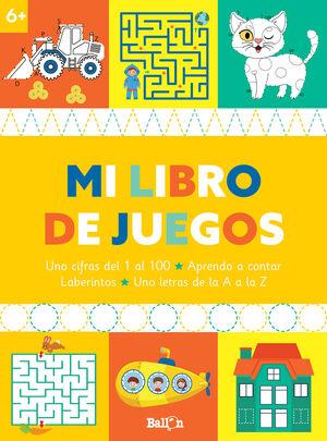 MI LIBRO DE JUEGOS +6