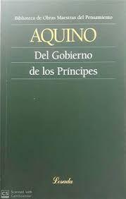 DEL GOBIERNO DE LOS PRINCIPES