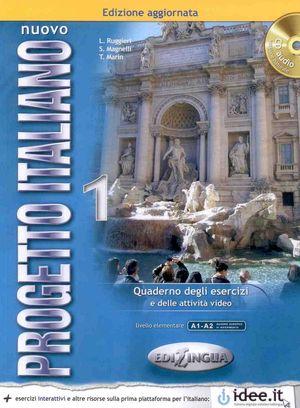 NUOVO PROGETTO ITALIANO CUADERNO DEGLI ESERCIZI + CD