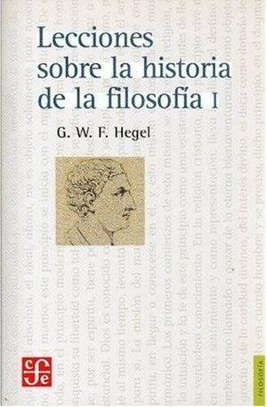 LECCIONES SOBRE LA HISTORIA DE LA FILOSOFIA, 1